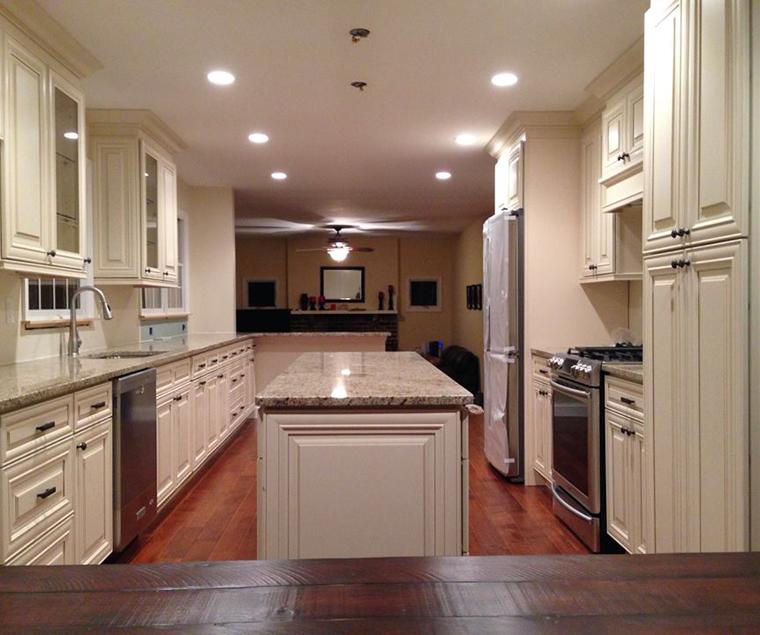 Kitchen Renovation In Progress sah builders kitchen renovation, remodeling marlton nj